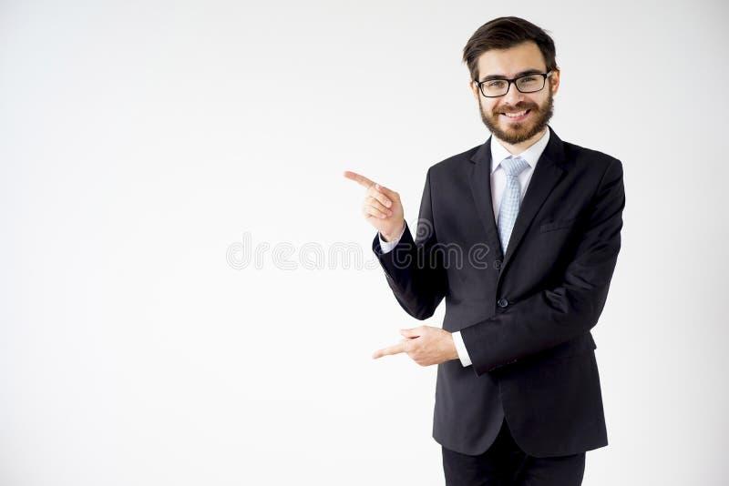Ritratto di un uomo d'affari fotografie stock