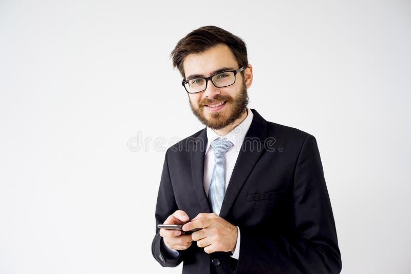 Ritratto di un uomo d'affari immagine stock libera da diritti