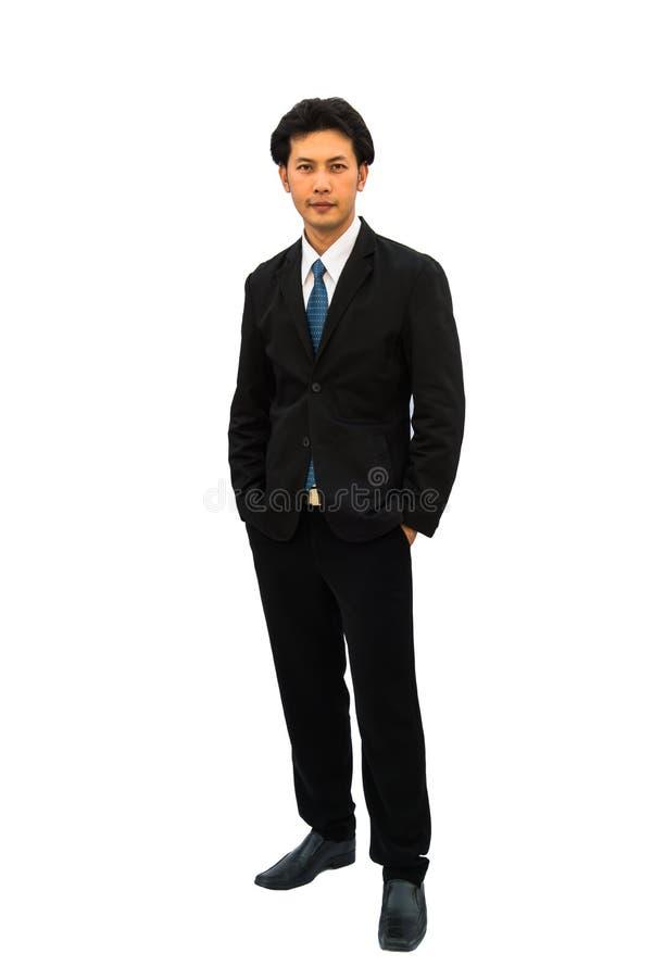Ritratto di un uomo d'affari sicuro fotografia stock libera da diritti
