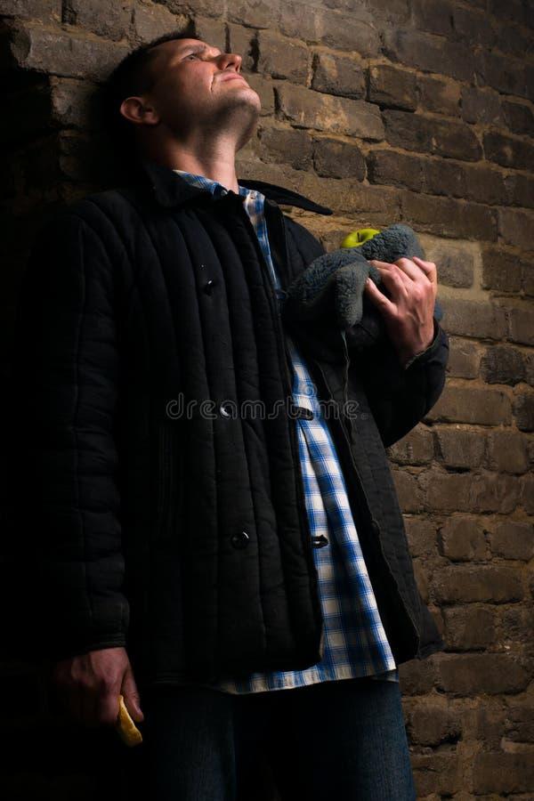 Ritratto di un uomo in un'uniforme per un'azienda agricola fotografie stock