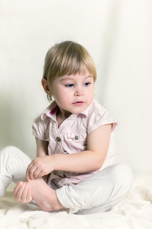 Ritratto di una bambina immagine stock