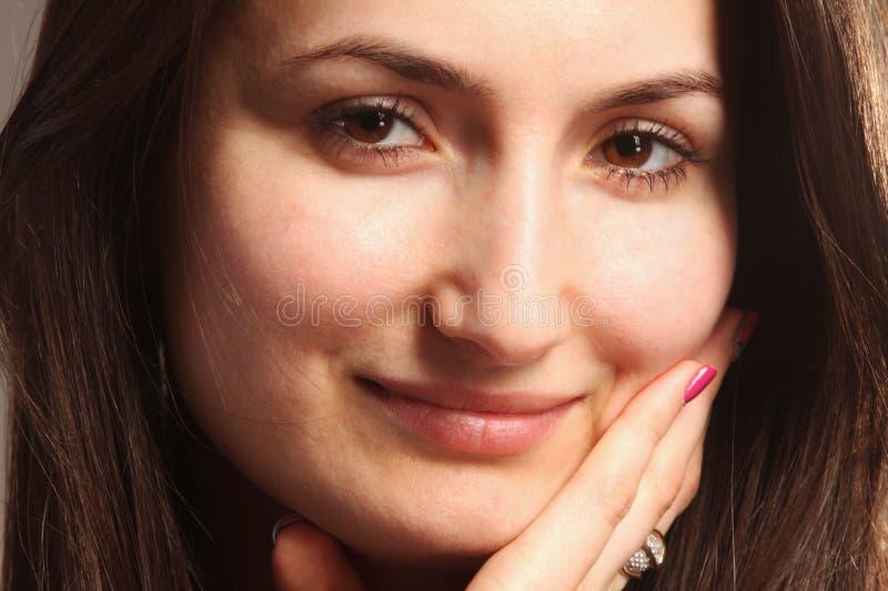 Ritratto di una donna bella fotografie stock libere da diritti