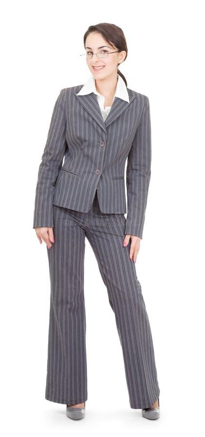 Ritratto di una donna di affari fotografie stock