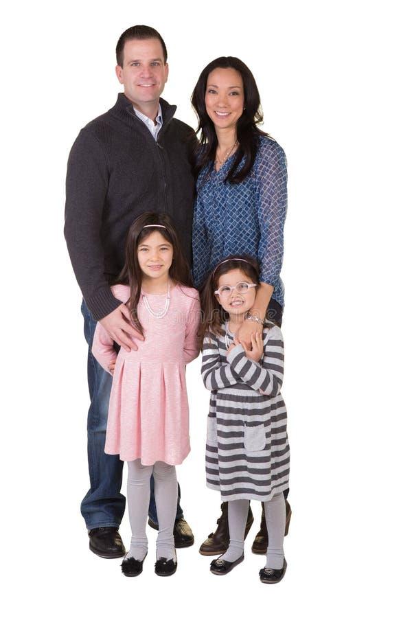 Ritratto di una famiglia fotografie stock libere da diritti