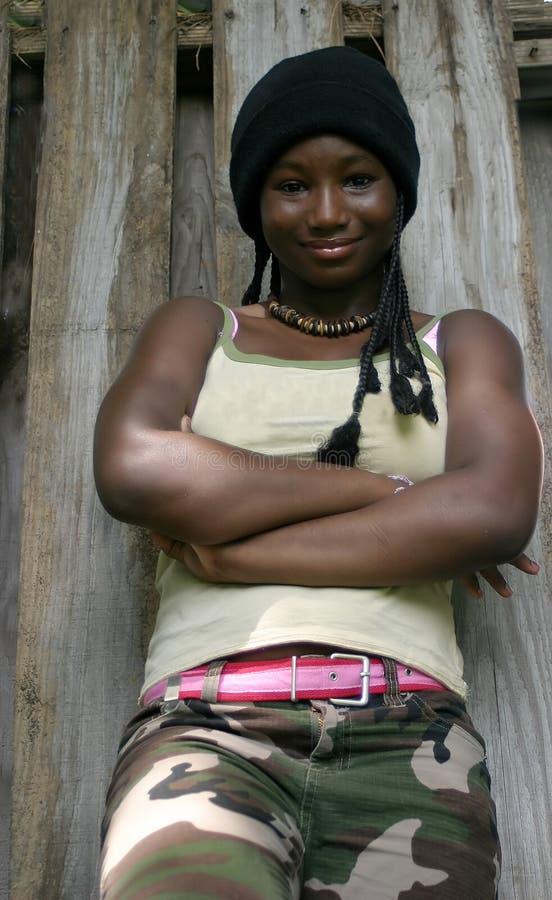 Ritratto di una ragazza immagine stock libera da diritti