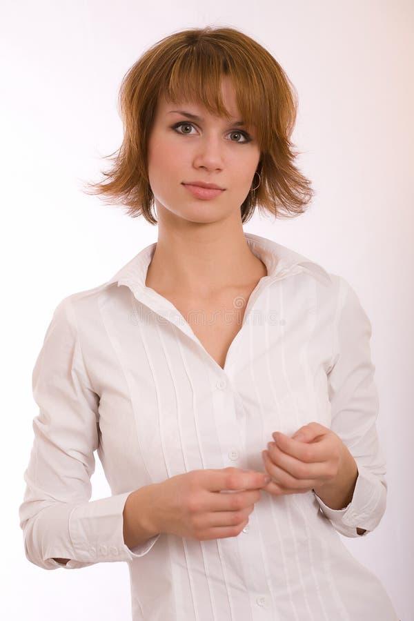 Download Ritratto di una ragazza fotografia stock. Immagine di sincero - 7318348