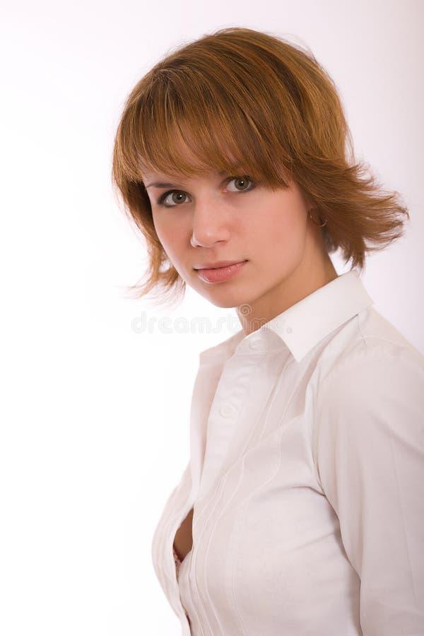 Download Ritratto di una ragazza immagine stock. Immagine di lampeggio - 7318403