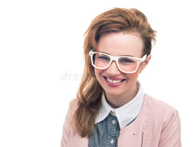 Ritratto di una ragazza alla moda fotografia stock libera da diritti