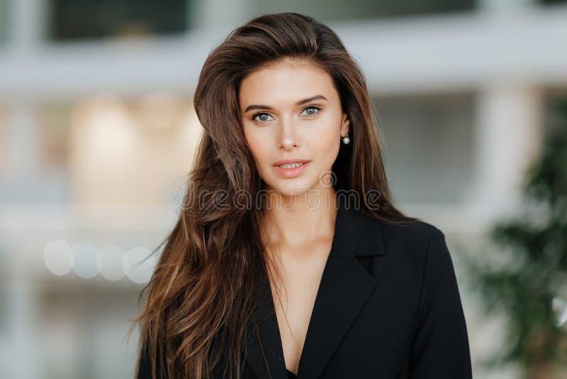Ritratto di una ragazza russa fotografia stock