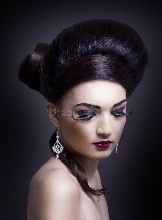 Ritratto femminile di fascino fotografie stock