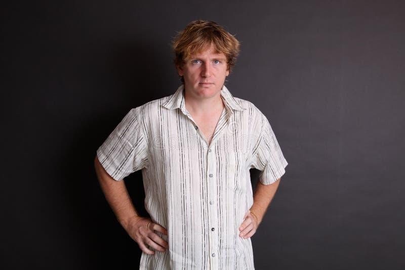 Ritratto maschio. fotografie stock libere da diritti