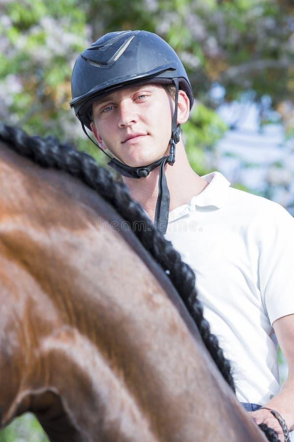 Ritratto maschio del cavaliere fotografia stock libera da diritti