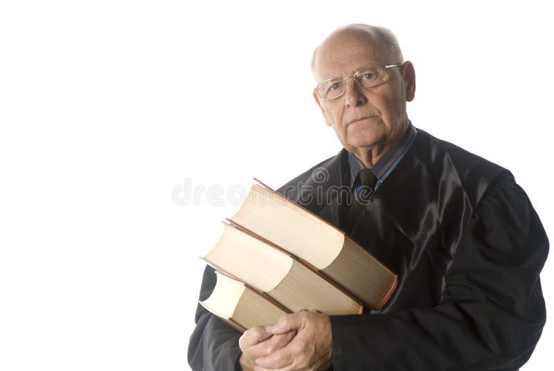 Ritratto maschio del giudice fotografie stock