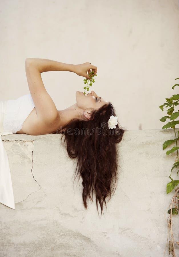Ritratto nuziale fotografie stock
