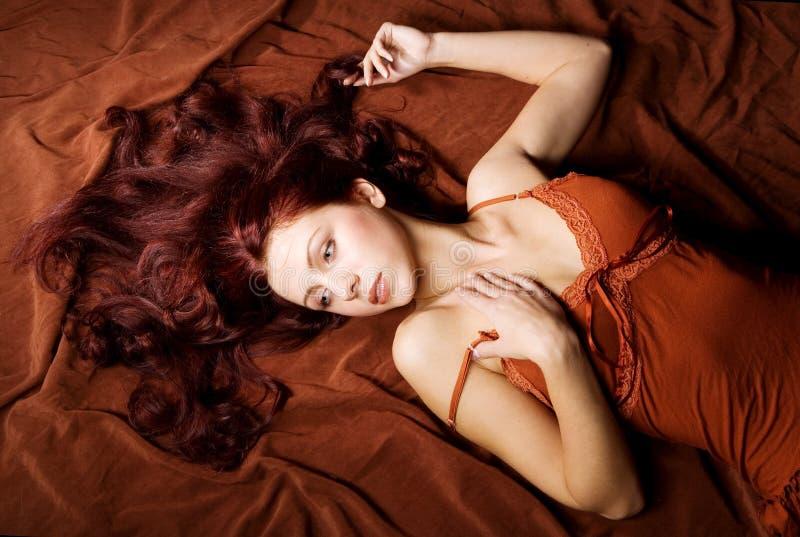 Ritratto sensuale fotografia stock