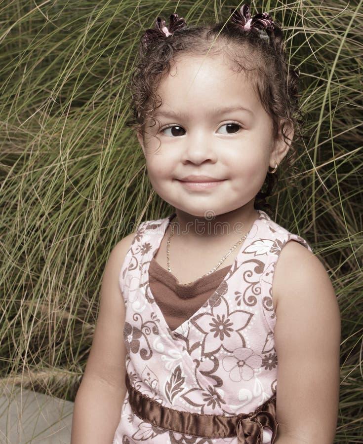 Ritratto sveglio della bambina fotografia stock libera da diritti