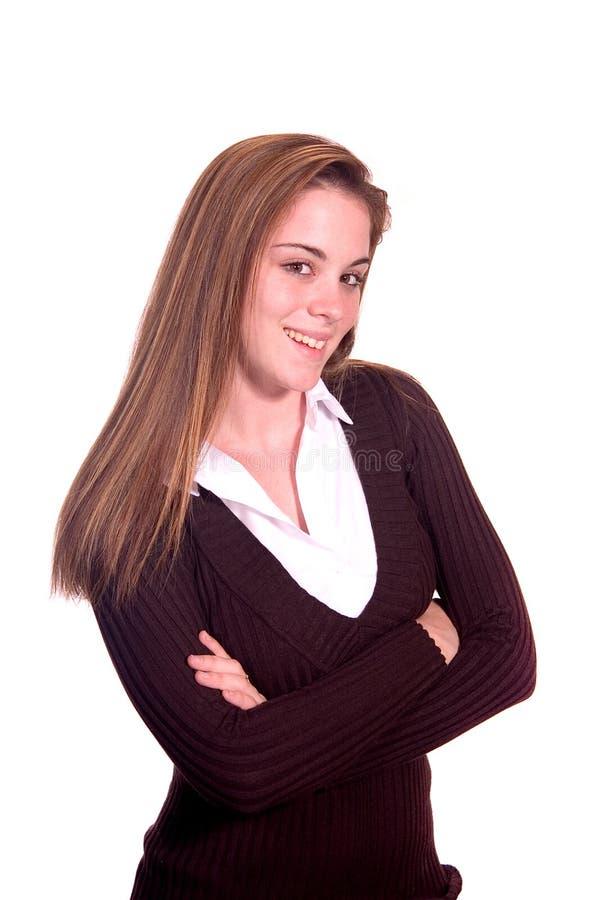 Ritratto Teenager Della Ragazza Fotografia Stock Gratis