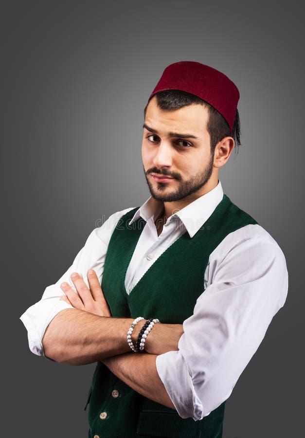 Ritratto turco del ` s dell'uomo immagini stock libere da diritti