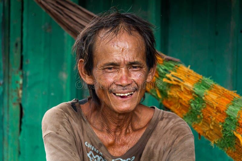 Ritratto vietnamita Ho Chi Minh City dell'uomo fotografie stock