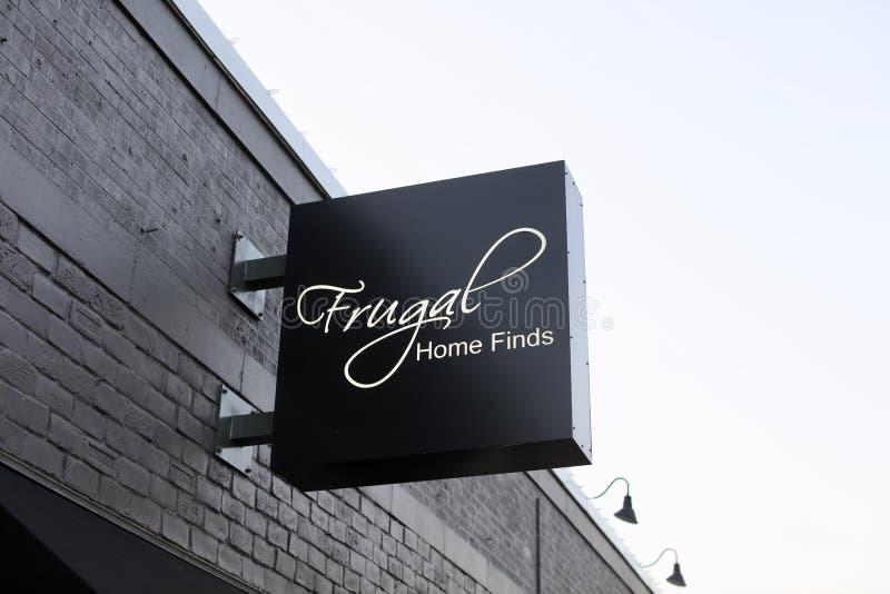 Ritrovamenti domestici frugali, Memphis immagini stock