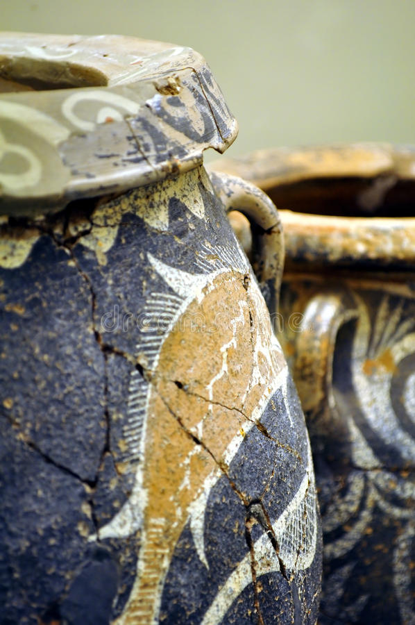 Ritrovamento Archaeological. immagine stock libera da diritti