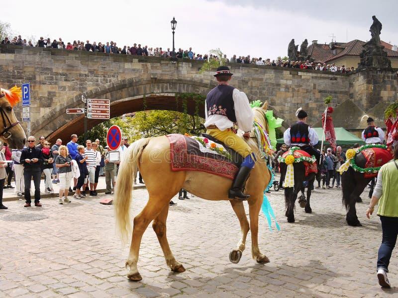 Ritt av konungarna, kulturell ceremoniel, UNESCO arkivbilder