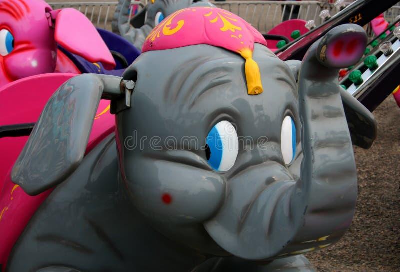 ritt för 2 karneval royaltyfri bild