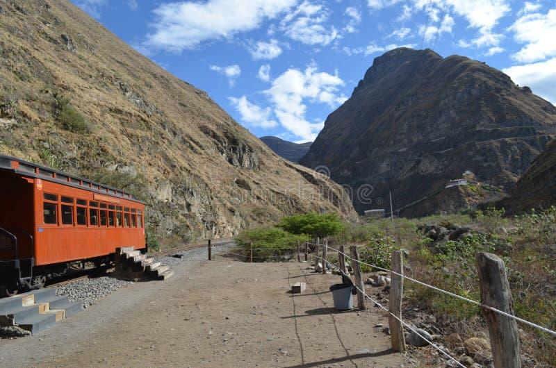 Ritten för jäkelnäsdrev, Ecuador arkivbilder