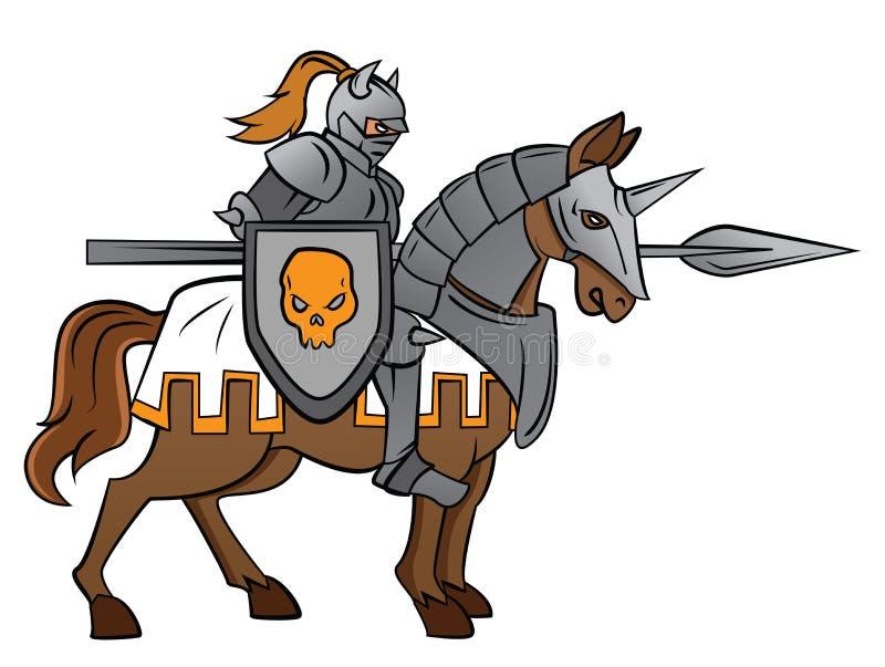 Ritter Rider lizenzfreie abbildung