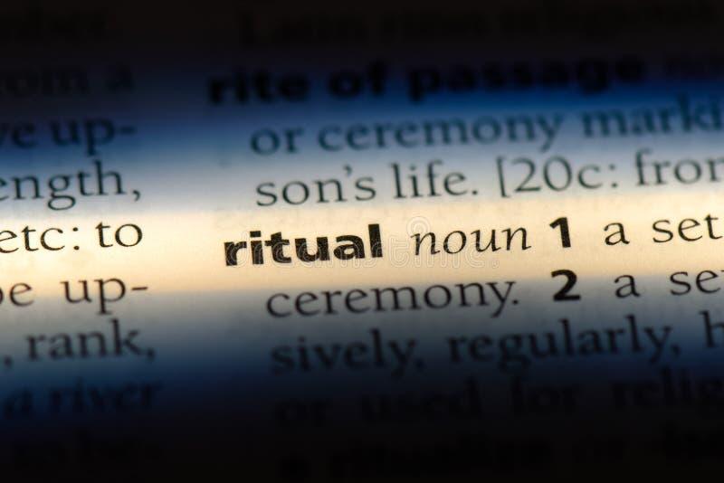 ritual foto de archivo