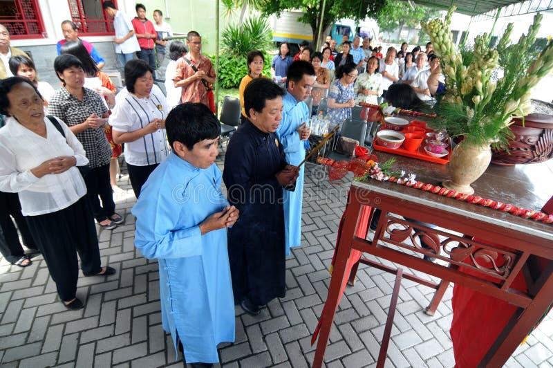 Ritual de Ching Bing imagens de stock