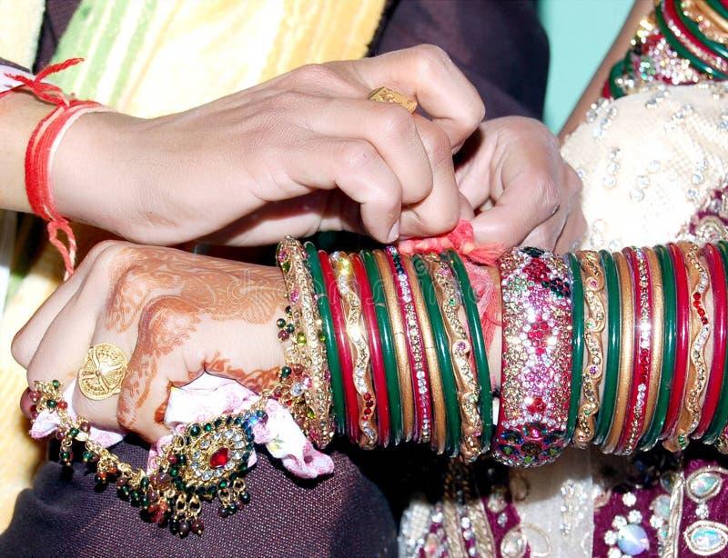Ritual do casamento em india fotos de stock royalty free