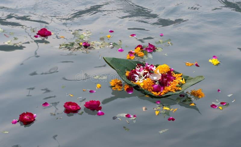 Ritual Flowers stock photo