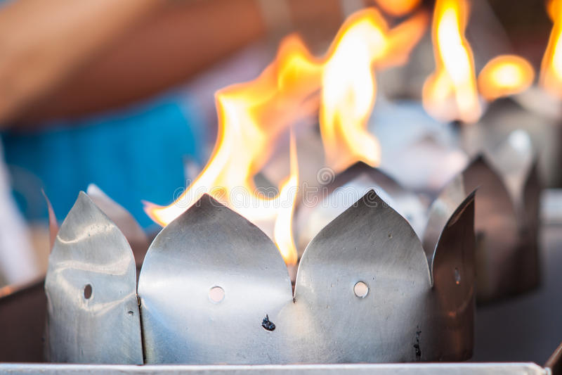 Download A Ritual Making At Thai Temple Stock Image - Image of ritual, ceremony: 31534183