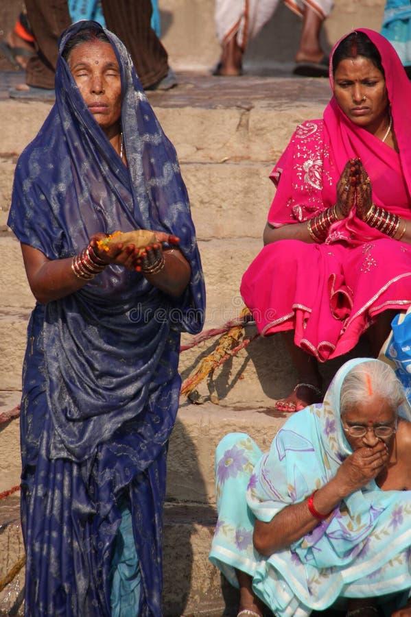 Rituales hindúes imagenes de archivo