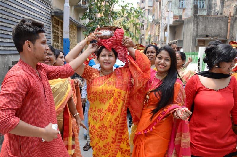 Rituali di Pre-nozze fotografia stock libera da diritti