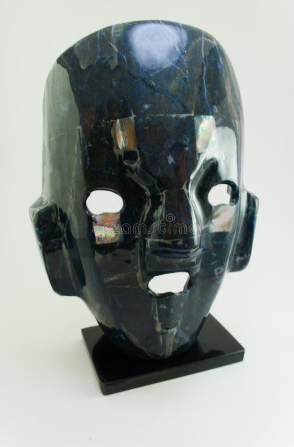 Ritueel masker aztec 1 stock foto