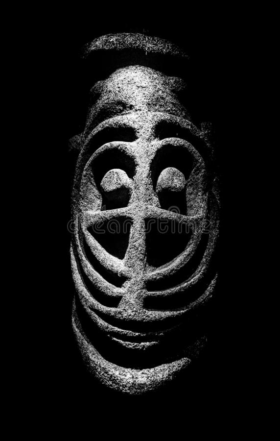 Ritueel Masker van Micronesië royalty-vrije stock foto's