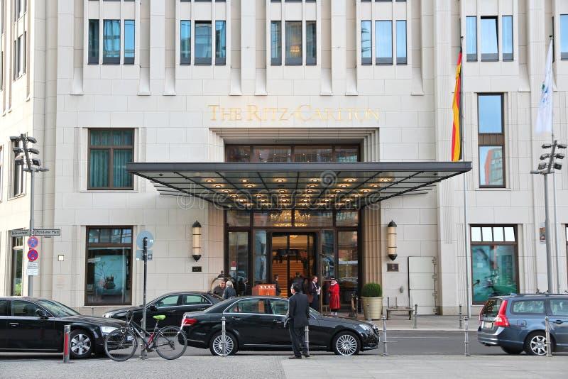 Ritz-Carlton, Βερολίνο στοκ φωτογραφία