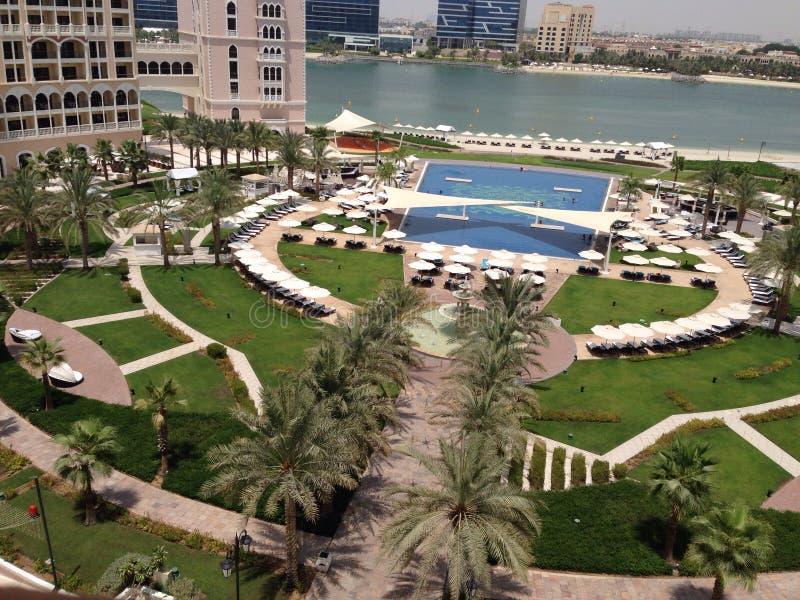 Ritz Carlton Абу-Даби стоковое изображение rf
