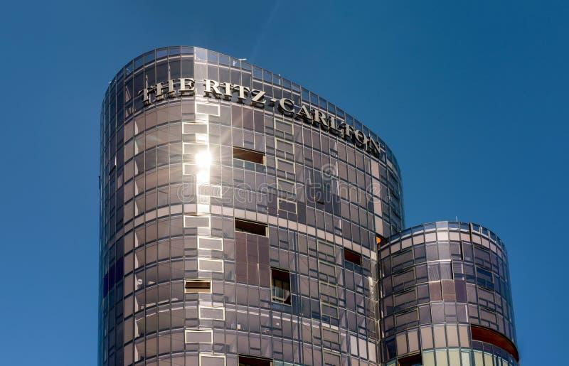 The Ritz-Carlton Hotel, Perth stock photos