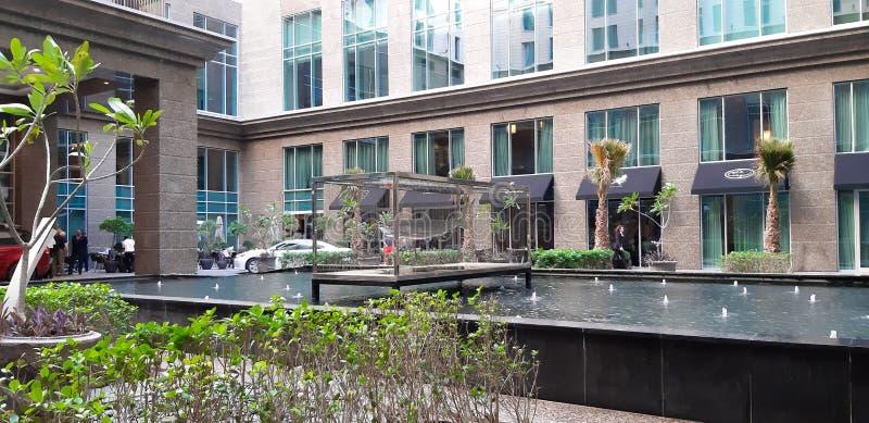 Ritz Carlton Hotel, Doubai stock afbeeldingen