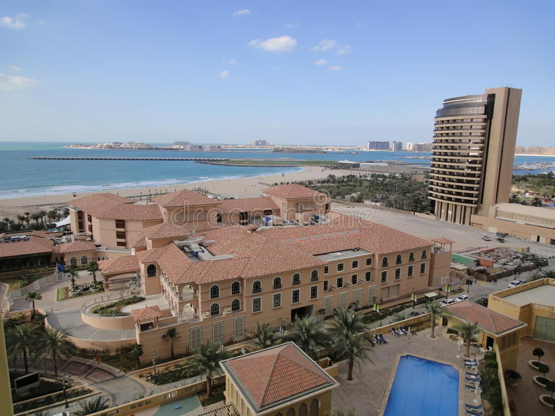Ritz Carlton Hotel DUBAI royaltyfri fotografi