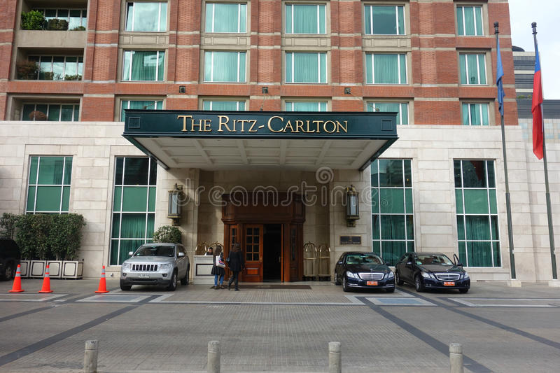 Ritz-Carlton Hotel stock image