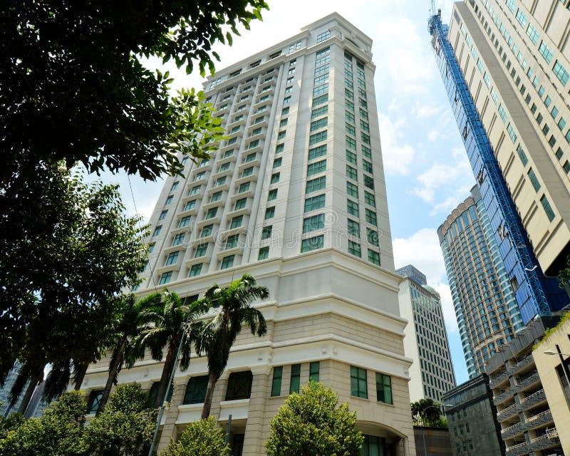 The Ritz-Carlton, Kuala Lumpur. DISCOVER THE RITZ-CARLTON, KUALA LUMPUR. FEATURING SPACIOUS ACCOMMODATIONS, A LAVISH SPA AND AWARD-WINNING CUISINE, THE LUXURY royalty free stock photos