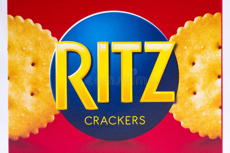 Ritz Crackers Logo stock afbeeldingen