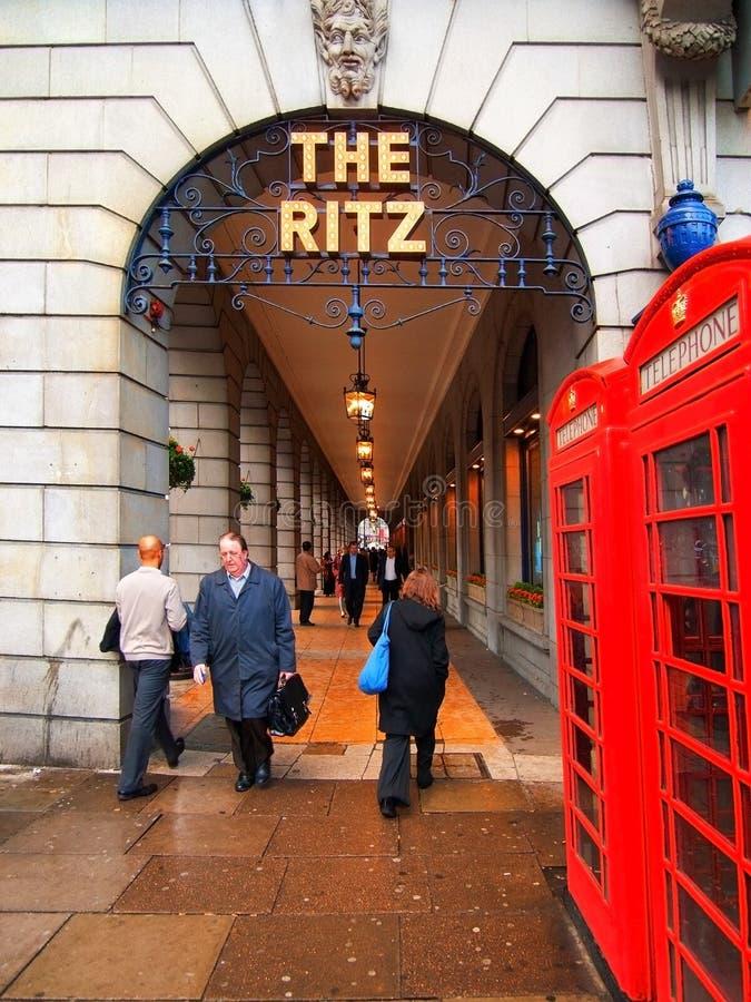 Ritz hotel, Londyn obrazy stock