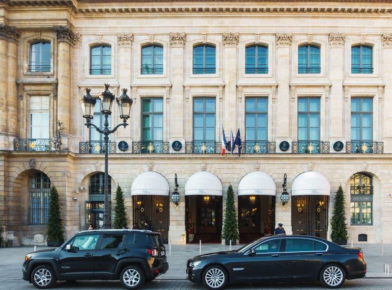 Ritz hotel w Paryż, Francja obraz royalty free