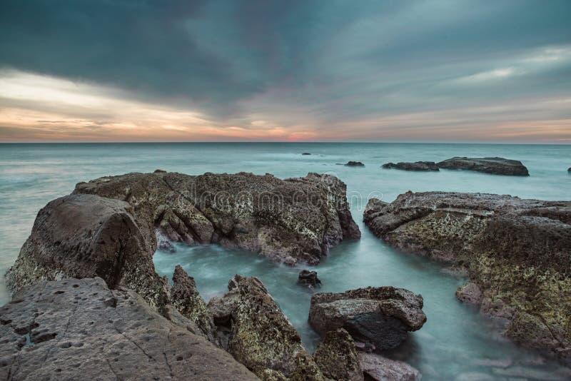 Riu Emerald Bay Sunset - México, Mazatlan foto de archivo