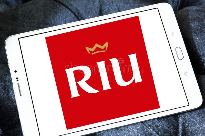 RIU kurortów i hoteli/lów logo zdjęcia royalty free